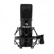 Auna MIC-900B kondensatormikrofon svart USB njure studio