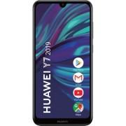 Telefon mobil Huawei Y7 (2019), Dual SIM, 32GB, 3GB RAM, 4G, Midnight Black