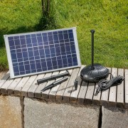 Pump system Roma solar powered