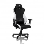 Nitro Concepts S300 Gaming Chair Radiant White/Black NC-S300-BW
