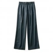 【股下丈74cm】 「NIKKE」 マフストレッチデニム 2タック パンツ