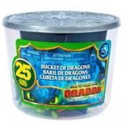 Комплект фигурки дракони, 25 броя, 025301