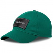 Шапка с козирка CALVIN KLEIN - Leather Patch Bb Cap K50K505490 LLY