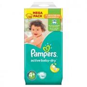 Scutece Pampers Active Baby Maxi Plus 4+ Mega Box, 9-16 kg, 120 buc