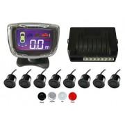 Senzori parcare fata spate cu 8 senzori si display