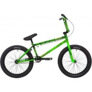 "Stolen Freestyle BMX Cykel Stolen X Fiction Creature 20"" 2020 (Toxic Green Splatter)"
