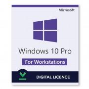 Windows 10 Pro para estaciones de trabajo - Retail - Licencia digital - Software para descargar