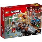 Set de constructie LEGO Juniors Jaful de la Banca cu Subminatorul