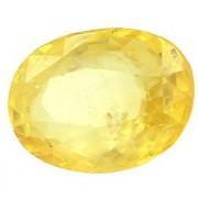 Jaipur Gemstone 7.5 -Ratti IGL&I Yellow Yellow Sapphire (Pukhraj) Precious Gemstone