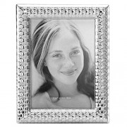"""Reed & Barton Watchband Silver Plate Frame, 5""""x7"""