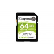 Kingston Canvas Select - Flash-minneskort - 64