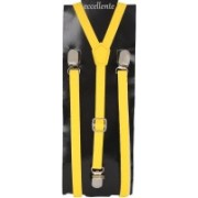 Eccellente Y- Back Suspenders for Men(Yellow)