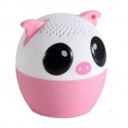 Boxa portabila Yuppi Love Tech Pig cu buton pentru selfie