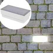 vidaXL LED zemní svítidla 12 ks 100x200x68 mm