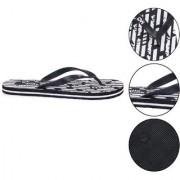 Daily Walk Black Men's Flip-Flops And Regular Walking House Slippers