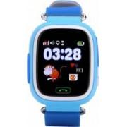 Ceas Smartwatch copii Wonlex GW100 GPS Touch cu functie telefon Albastru