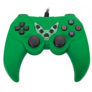 Gamepad Dual Vibration color verde para juegos 656545V