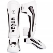 Venum Elite Standup Shinguards White/Black M