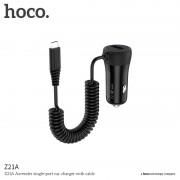 HOCO Auto-nabíječka - HOCO, Z21A Ascender MICRO-USB