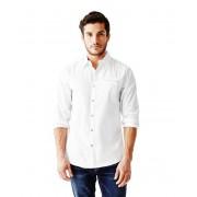 GUESS Cowan Slim-Fit Shirt true white