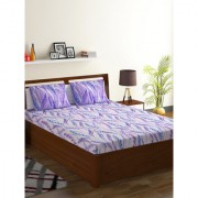 Bombay Dyeing Multicolor Bombay Dyeing 100% Cotton Breeze Double Bed Sheet