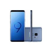 Smartphone Samsung Galaxy S9 Dual Chip Android 8.0 Tela 5.8 Octa-Core 2.8GHz 128GB 4G Câmera 12MP - Azul