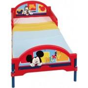 Mickey Mouse Musse Pigg juniorsäng med madrass - Disney Mickey Mouse barnsäng 646373