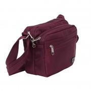 Zoomlite Metroshield Anti-Theft Shoulder Bag Berry