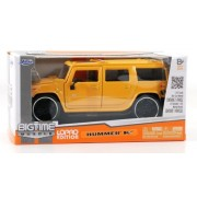 Hummer H2 Suv Yellow 1:32 Scale Jada Bigtime Muscle Lopro