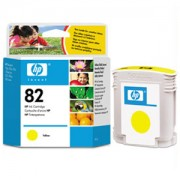 HP 82 Yellow ( C4913A ) DesignJet 500/800 printer series