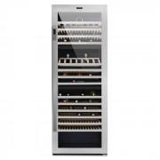 Klarstein Botella Trium 3 zone frigider de vin 617 litri, 268 sticle, din oțel si sticlă UV , Clasa B