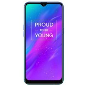 "Telefon Mobil Realme 3, Procesor Octa-Core 2.0GHz, Ecran IPS LCD 6.22"", 3GB RAM, 32GB Flash, Camera Duala 13 + 2MP, Wi-Fi, 4G, Dual Sim, Android (Albastru) + Cartela SIM Orange PrePay, 6 euro credit, 6 GB internet 4G, 2,000 minute nationale si internation"