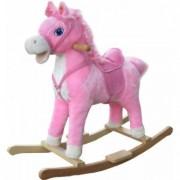 Calut Balansoar Pentru Joaca Happy Baby - Pink Sabrina