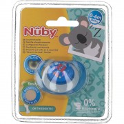NEW Valmar Nuby Sucette Glow In The Dark Orthodontique 0-6m 1 pc(s) 0048526057887