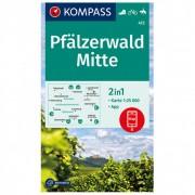 Kompass Pfälzerwald Mitte Carta escursionistica