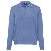 Peter Hahn Polo-Pullover Achim aus 100% Schurwolle-Merino Peter Hahn blau Herren 58 blau