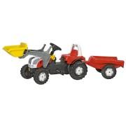 Rolly Toys rollykid Steyr 6190 CVT con pala cargadora y remolque