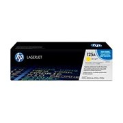 HP 125A Original Toner Cartridge - Yellow