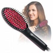 Hair Straightener Brush Perfectday Ceramic Heating Straightening Irons Brush Anti Scald Static