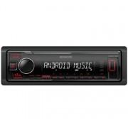 Kenwood KMM-105R USB autórádió - piros gombszín