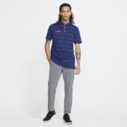 Мужская рубашка-поло в полоску для гольфа Nike Dri-FIT Player