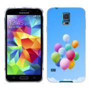 Husa Samsung Galaxy S5 Mini G800F Silicon Gel Tpu Model Baloons