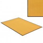 [en.casa] Lábtörlő szőnyeg - csúszásgátlóval / előszoba szőnyeg - 240x180cm (mustársárga)