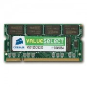 Memorie Corsair SO-DIMM ValueSelect 2GB DDR2, 667 MHz, PC2 - 5300, CL 5-5-5-15, VS2GSDS667D2