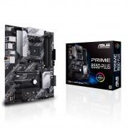 MB Asus PRIME B550-PLUS, AM4, micro ATX, 4x DDR4, AMD B550, 36mj (90MB14U0-M0EAY0)