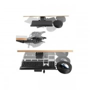 Support clavier articulé et retractable