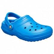 Crocs - Classic Lined Clog - Sandales de marche taille M11, bleu