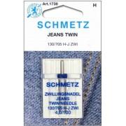 Schmetz JEANS farmer ikertű, 4.0/100, 130/705H-J ZWI