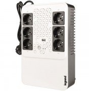 Legrand KEOR-M 6-os multimédiás szünetmentes elosztósor Always-on USB töltő aljzat 800VA 310082