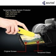 ACUTAS Tempered Glass Screen Protector for DSLR Camera